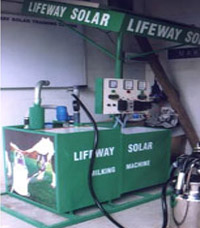 Solar Milking Machines